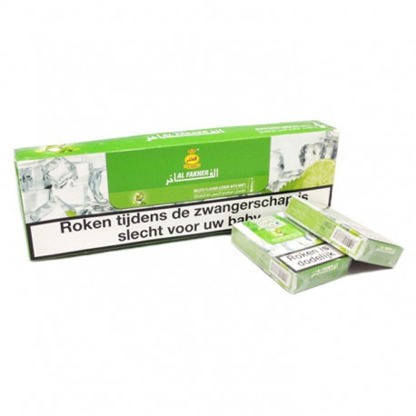 Waterpijptabak Al Fakher Dubai Lemon/Mint (Mojito)
