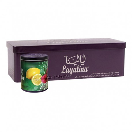 Waterpijptabak Layalina Raspberry Lemon
